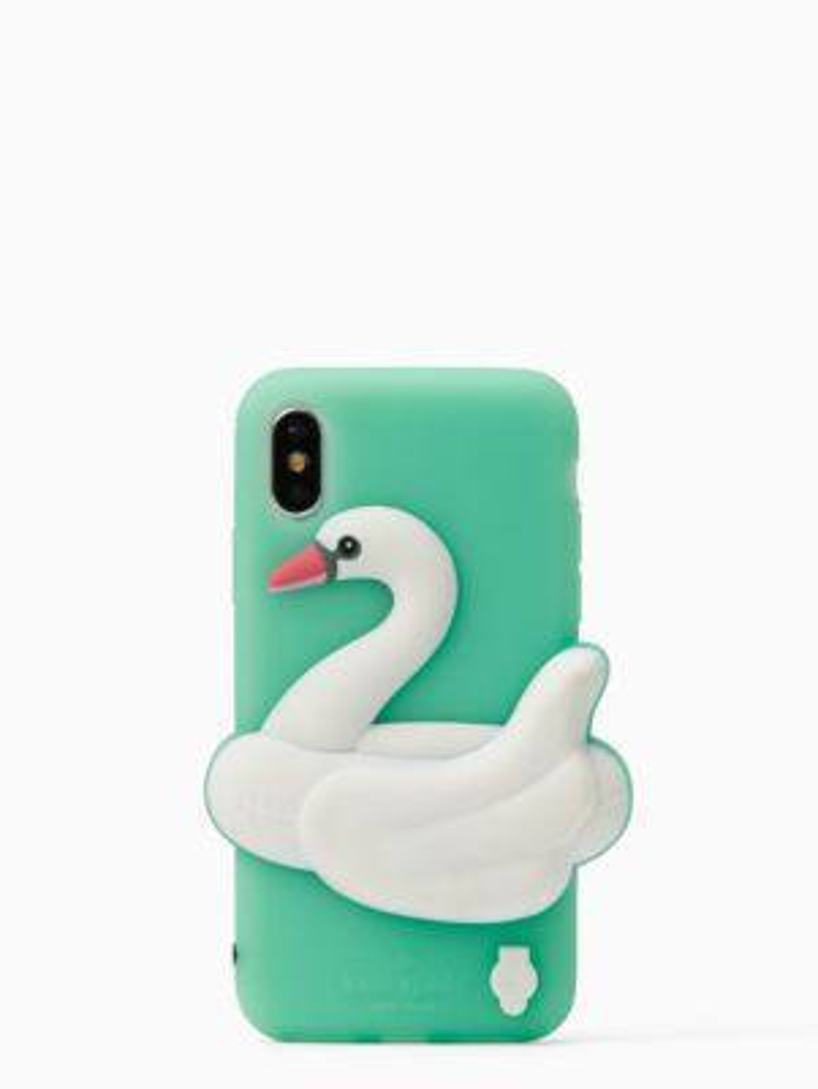 SWAN IPHONE X CASE