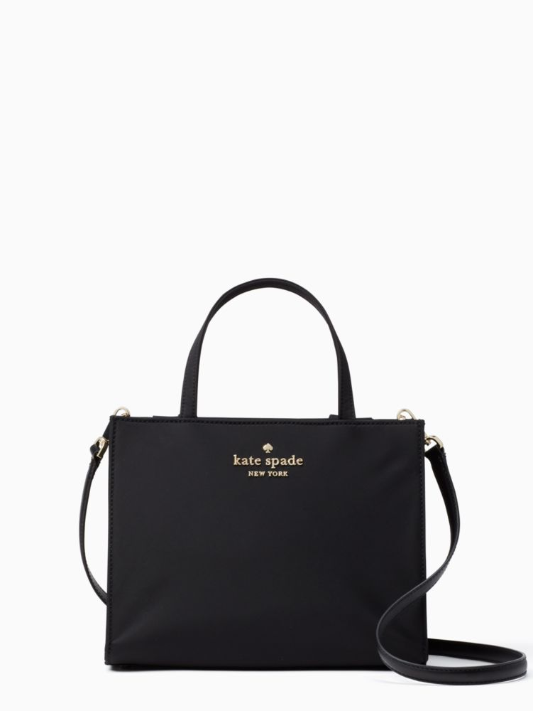 Watson Lane - Sam Nylon Satchel - Black