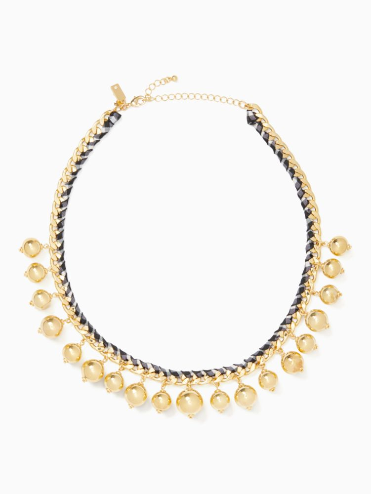 Kate Spade Jewelries PRETTY PEARLY CREW NECKLACE